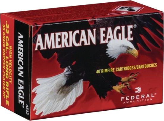 Federal AE 22 American Eagle .22LR munitie